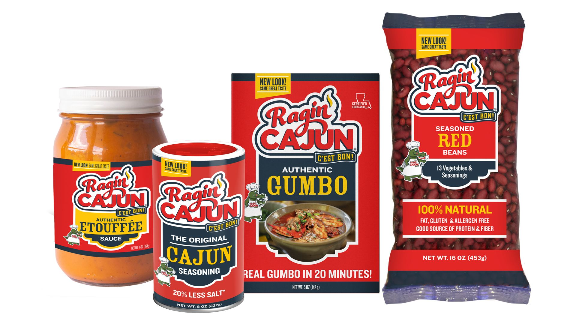 Ragin' Cajun Packaging Set