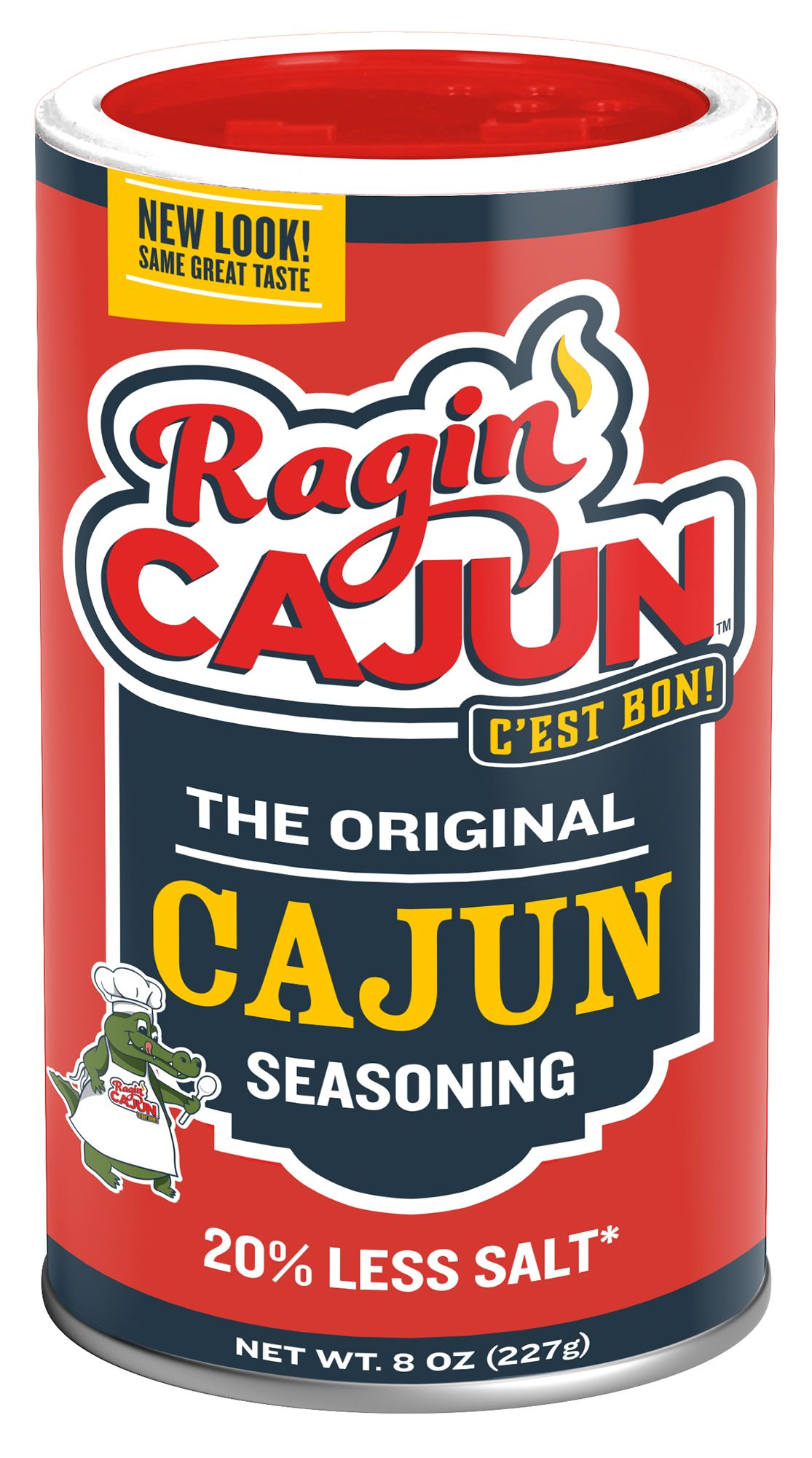 Ragin' Cajun Spice Can